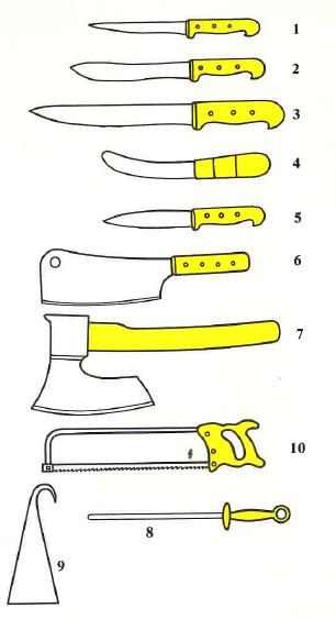 zabijačkové nože
